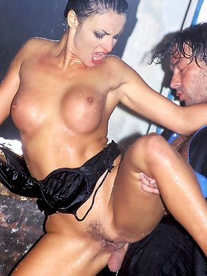 Laura Angel and her man Hump in the Rain